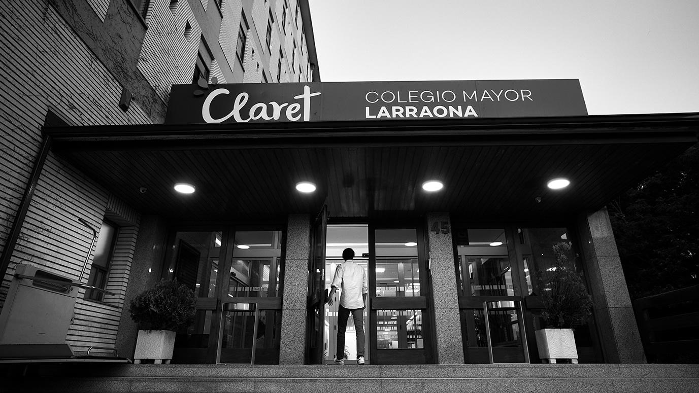 Entrada al Colegio Mayor Larraona