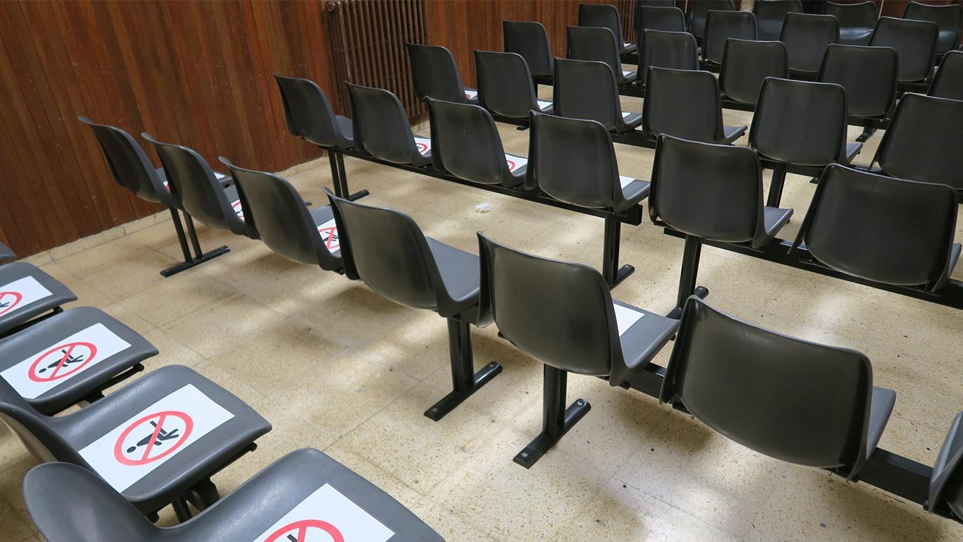 Sala de cine del Colegio Mayor